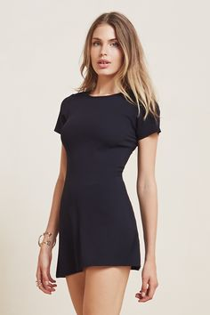 The Mars Dress  https://thereformation.com/products/mars-dress-black