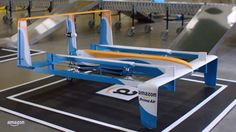 """Amazon on Sunday released the latest design for its """"Prime Air"""" delivery drone, on one of the busiest online shopping weekends of the year. A new video, narrated by former Top Gear host Jeremy Clarkson, shows in-flight footage of a hybrid vehicle"""
