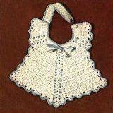 Just one of many free Baby Bibs to Crochet. http://www.antiquecrochetpatterns.com/crochet-baby-bib-patterns.html