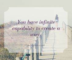 You have infinite capability to create a way. You have unlimited potential to creatively express yourself. You have an expansive capacity to love yourself and others even more than you know. Look for examples of these dynamics throughout your day. They exist everywhere when you simply allow yourself to believe it. The power of focus is a game-changer. What you focus on you, you find. See through your lens of abundance today, Beautiful soul.  #WealthyWednesday #infinitecapability #poweroffocus #dailygrowth Growth Quotes, Focus On Yourself, Game Changer, Life Purpose, Beautiful Soul, Infinite, Abundance, Believe, Lens
