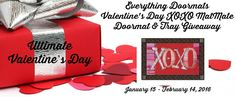 Everything Doormats Valentine's Doormat Giveaway 02/14 ~ Tales From A Southern Mom