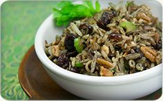 Recipe Wild Rice Stuffing with Cranberries