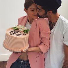 La romántica felicitación de Zayn Malik a Gigi Hadid con motivo de su 22 cumpleaños