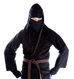 The season of Halloween is upon us and it's time to get those costumes in order before the festivities begin. For those of you who want to sport the ninja look, here's showing you how to do it without the trouble of actually making it from scratch.