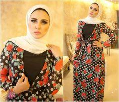 chic hijab looks Chiffon maxi dresses by Emy fashion http://www.justtrendygirls.com/chiffon-maxi-dresses-by-emy-fashion/