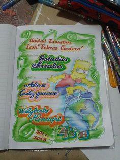 Carátulas niño Classroom Art Projects, Art Classroom, Musical Cards, Grammar Book, Borders For Paper, Decorate Notebook, My Notebook, Border Design, Paper Flowers