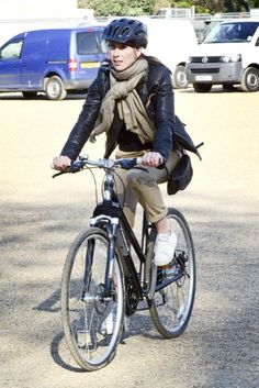 Samantha Cameron #cycling in the streets #celebrities