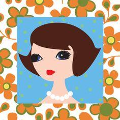 Antoinette, Mademoiselle cards by ginger99