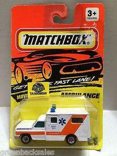 (TAS009595) - Matchbox Racing Stock Car - Ambulance