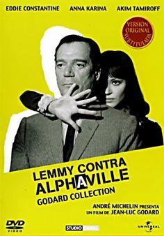 Lemmy contra Alphaville (1965) Francia. Dir: Jean-Luc Godard. Ciencia ficción. Drama. Thriller futurista. Nouvelle vague - DVD CINE 994 e DVD CINE 1957-III