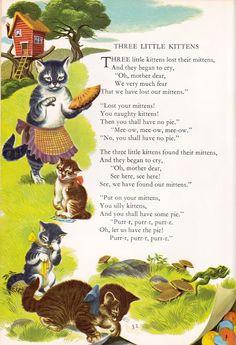 "My Retro Reads: ""Childrcraft: Poems of Early Childhood,"" edited by J. Morris Jones, illustration by Kuhn, 1954 Childhood Poem, Early Childhood, Childhood Memories, Nursery Rhymes Lyrics, Old Nursery Rhymes, Preschool Poems, Kids Poems, Rhymes For Kids, Art For Kids"