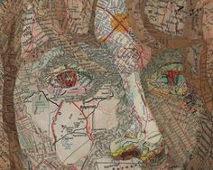 map collage