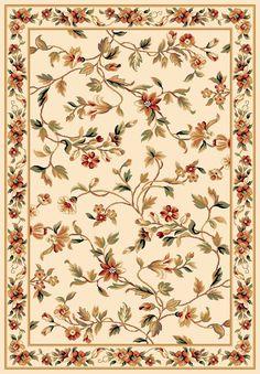 KAS Cambridge Ivory Floral Rug