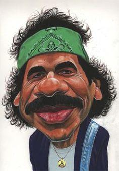 Carlos Santana by Ismael Roldan