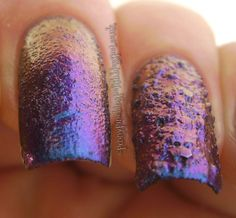 Penny Pinching Polish: Texture + Multichrome = ??Awesome??