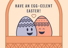 Customize the Cute Egg-celent Illustration Easter Card template and make it match your brand!
