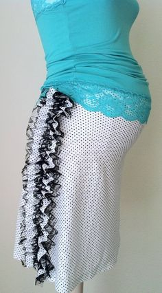 The Polka Dot Ruffle Maternity Skirt XS S M L by DaintyButton, $31.95 Maternity Skirts, Maternity Fashion, Love My Kids, Polka Dots, Trending Outfits, Formal Dresses, My Style, How To Wear, Etsy
