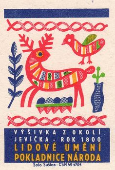 Slovenian match label, via Pilllpat (Agence Eureka).