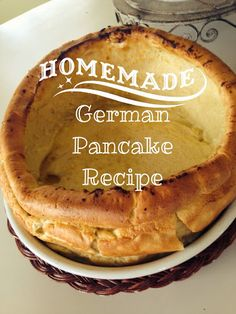 German Pancake Recipe For Two.Tasty Miniature German Pancakes Recipe Tikkido Com. Dutch Baby Recipe German Pancake SimplyRecipes Com. Oven German Apple Pancake A La Dinah's Worth The Whisk. Oven Pancakes, Dutch Pancakes, Dutch Baby Pancake, Fluffy Pancakes, Waffles, Puff Pancake, Crepes, Breakfast Dishes, Breakfast Recipes