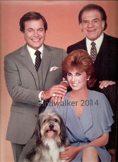 Hart to Hart with Robert Wagner, Stephanie Powers and Lionel Stander.