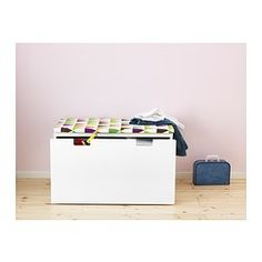 IKEA - VISSLA, Bench pad, , Turns a bench into soft, comfortable seating and fits perfectly STUVA bench.Easy to remove the cover for washing since it has a zipper.