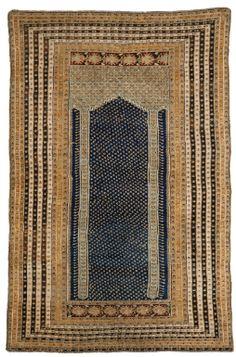 A Kula prayer rug, Central Anatolia, late century Textiles, Pom Pom Rug, Persian Rug, Turkish Rugs, Prayer Rug, Magic Carpet, Tribal Rug, Kilim Rugs, Textures Patterns
