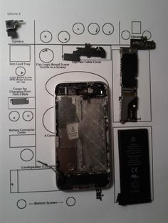 Repair it yourself: Disassemble iphone 4
