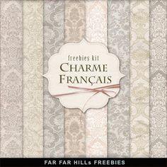 Freebies Kit of Backgrounds - Сharme Français