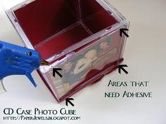 Joyas de papel y otras gemas Crafty: CD Photo Cube Carnaval