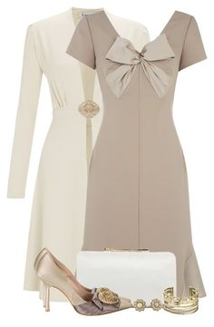 Jacques Vert Lorcan Mullany Oyster Bow Satin Dress by brendariley-1 on Polyvore featuring polyvore, fashion, style, Jacques Vert, Oscar de la Renta, Vince Camuto, Michael Kors, Adriana Orsini, Kate Spade and clothing
