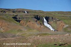 This was one of the other waterfalls we saw that was east of the signposted labeled Yst-i-Rjukandi Ring Road, East Iceland Iceland Waterfalls, Ring, World, Outdoor, Outdoors, Rings, Outdoor Games, The World, Wire Wrapped Rings