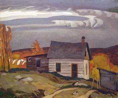 Lumberman's Cabin (A.J. Casson, Group of Seven)