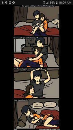 70 Ideas Funny Relationship Mems My Life For 2019 Tumblr Cute Couple, Cute Couple Art, Anime Love Couple, Cute Anime Couples, Cute Couples Goals, Gamer Couple, Cute Couple Comics, Couples Comics, Comics Love