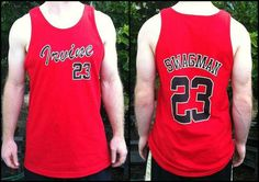 UC Irvine's Swag Man Tank Top number 23 Jersey Red/ by sumosun, $15.00