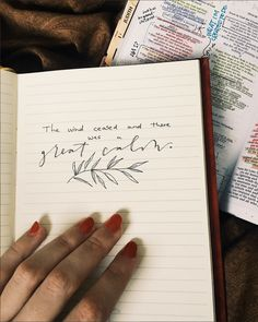 Quotes calligraphy handwriting bible verses ideas for 2019 Bibel Journal, Bible Verses Quotes, Calligraphy Quotes Scriptures, Bible Notes, Bible Art, Christian Quotes, Beautiful Words, Cool Words, Journaling