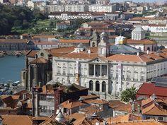 Façade of the Palácio da Bolsa, Porto