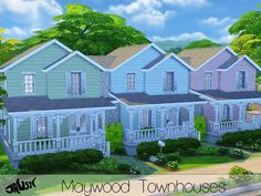 Jaws3's Maywood Townhouses