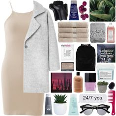 i can't stop thinking about you by untake-n on Polyvore featuring polyvore, moda, style, MANGO, Retrò, Kiehl's, Origins, Davines, Butter London and NYX