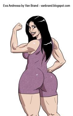Eva Andressa - Musa Fitness by sats-VanBrand
