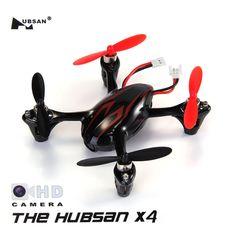 Hubsan X4 H107C 4CH RC Quadcopter 2.4G 6 Axis Gryo 2.0MP Camera RTF - Black & Red
