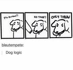 this is true I have a dog I can confirm