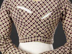 Nursing bodice c1840 — The John Bright Collection