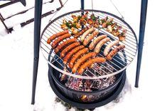 Bålpannetrenden tar av - Byggmakker+ Paella, Cottage, Ethnic Recipes, Food, Essen, Cottages, Cabin, Farmhouse, Yemek