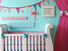 nursery decor - pennant banner