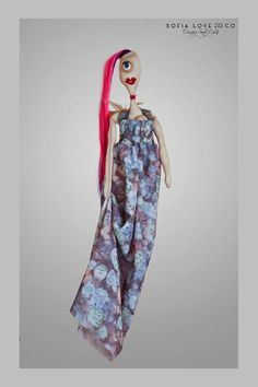 #31 Sofia #handmade #dancing #freaky #dolls #independent #arts #label #2015 #fashion #milan #flowers