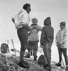 Bergsteiger (Hohe Tauern) in Österreich, 1969 Juergen/Timeline Images #Climbing #Klettern #Österreich #Berge #Bergsteigen
