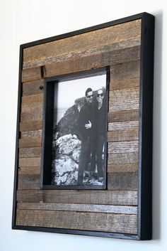 8x10 reclaimed wood picture frame