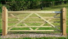 Field Gates manufactured specifically for field, equine and agricultural applications Front Yard Fence, Fence Gate, Fenced In Yard, Fences, Backyard Projects, Outdoor Projects, Wooden Farm Gates, Farm Entrance, Timber Gates
