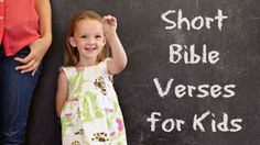 EmailPinterestFacebookTwitterStart small — That sounds obvious, but for kids just beginning to memorize scripture it should be the absolute rule. Bite-sized Bible verses help kids learn truth…