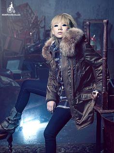 Chaerin Lee aka CL (of 2NE1) for Bean Pole Jean co.